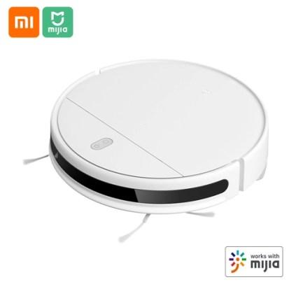 Xiaomi Mijia G1 robô aspirador de pó 2200Pa sucção Início Sweeper Mopper Piso aspirador de pó Controle app 2500mAh 100-240V Branco nas americanas