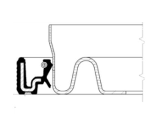 Bague d'etancheite moteur pour RENAULT MEGANE III