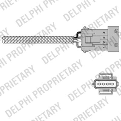 Sonde lambda pour PEUGEOT 306 3/5 portes (7A, 7C, N3, N5