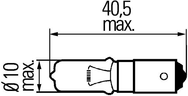 Ampoule, feu de stop pour CITROËN C4 Picasso I 2.0 HDi 138