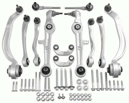 Kit de bras de suspension pour AUDI A4 1.9 TDI 130cv (8E2