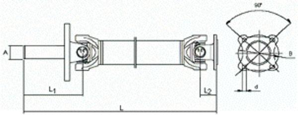 Transmission / Cardan pour NISSAN TERRANO II 3.0 Di 4WD