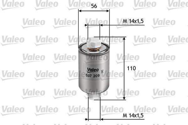 Filtre a carburant pour ROVER 200 214 Si 103cv (RF) (76kw