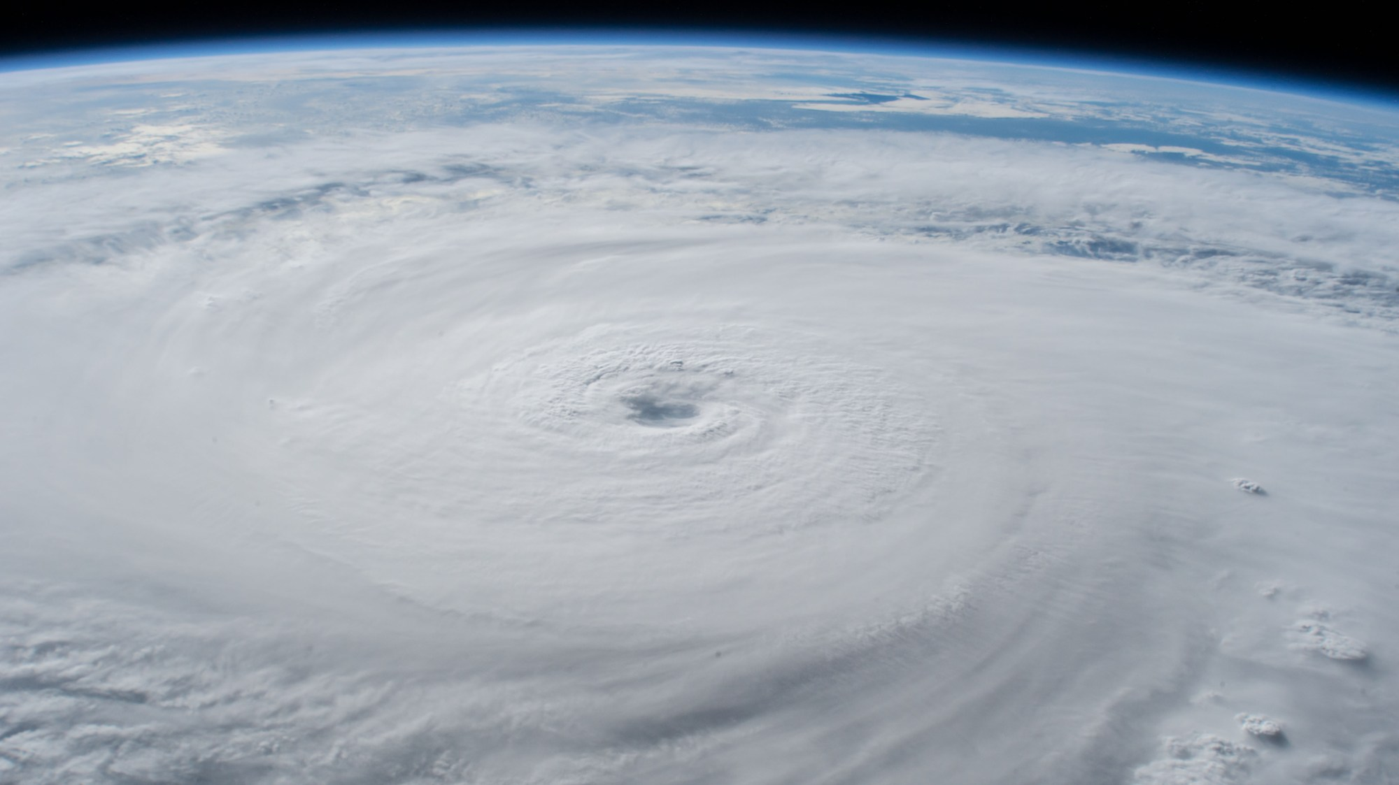 hight resolution of photohurricane lane with its well defined eye photographed as a category 5 storm southwest of the hawaiian islands as the international space station