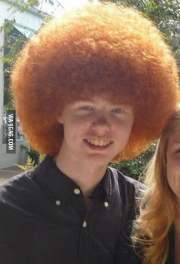 special afro ginger