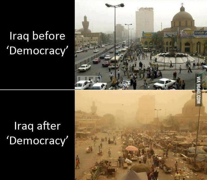 Image result for democracy in iraq