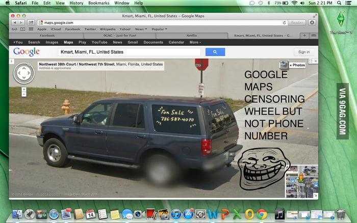 google maps troll 9gag