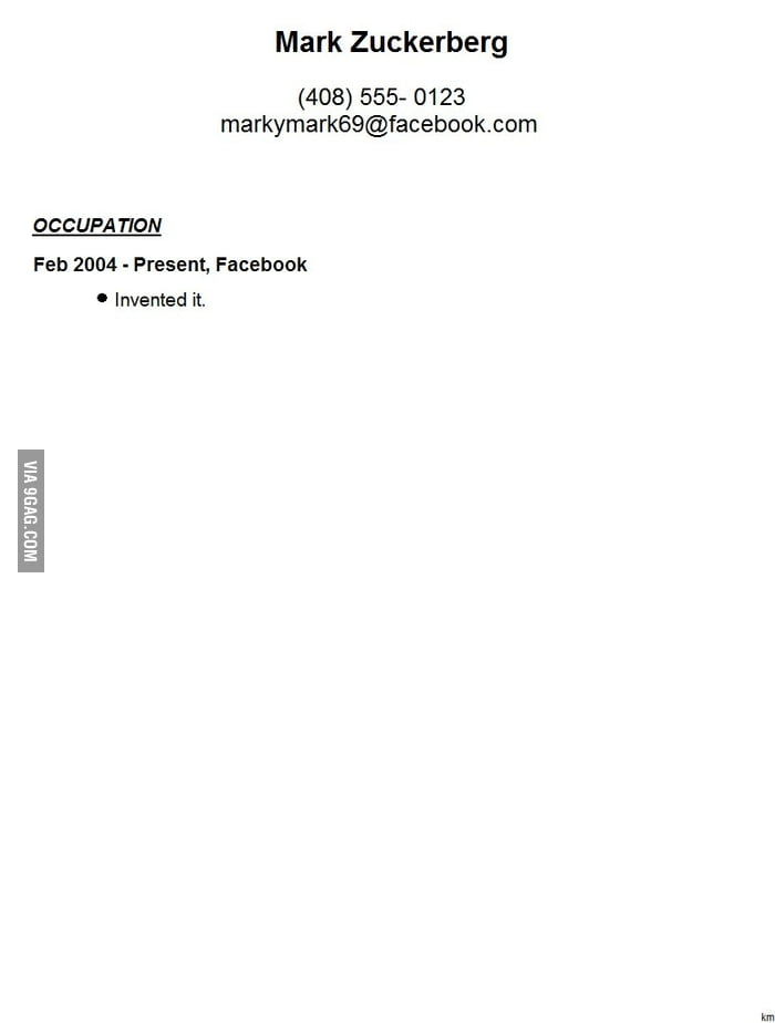 I Looked Over Your Resume 9gagthe Ultimate Investment Banking