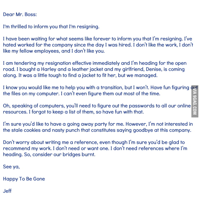 Resignation letters funny poemsrom funny resignation letter expocarfo Image collections