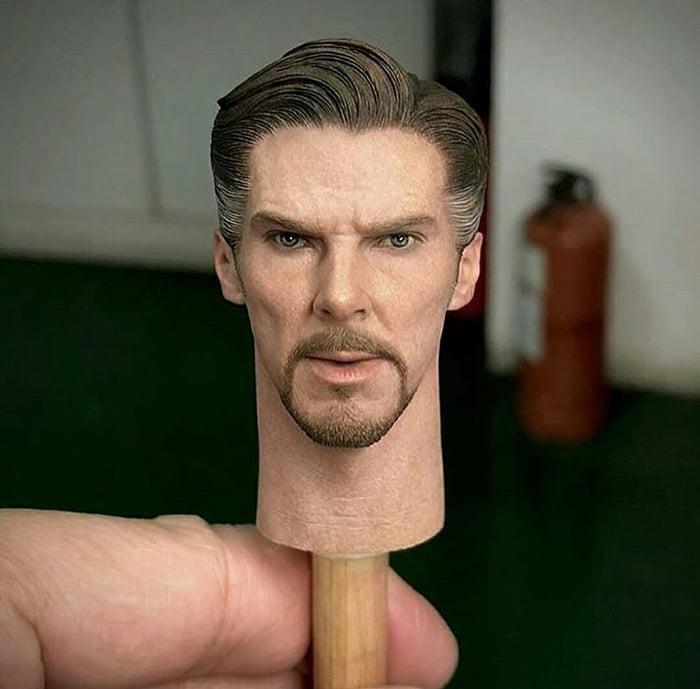 miniature hyper realistic doll