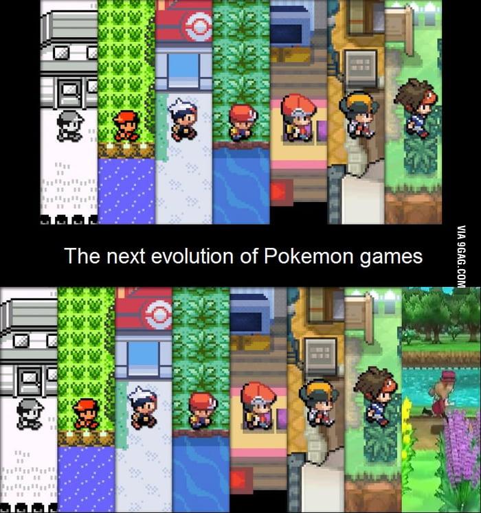 The Next Evolution Of Pokemon Games  9gag