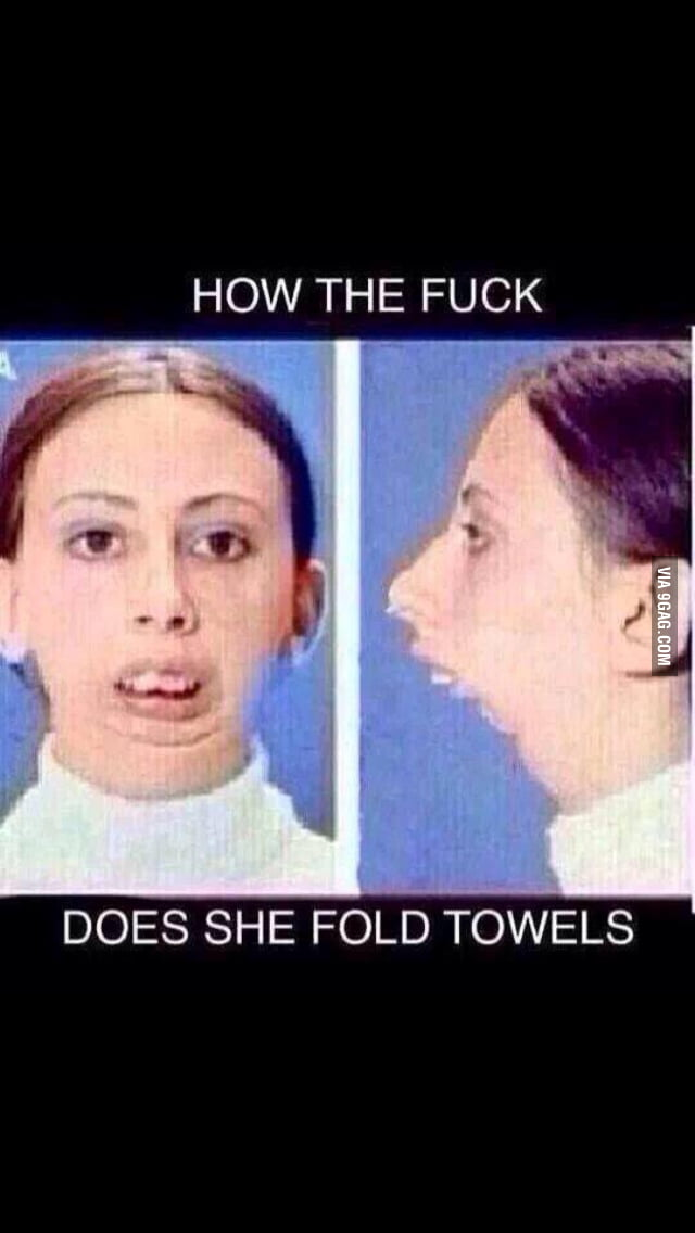 How Does She Fold Towels : towels, Would, Towels