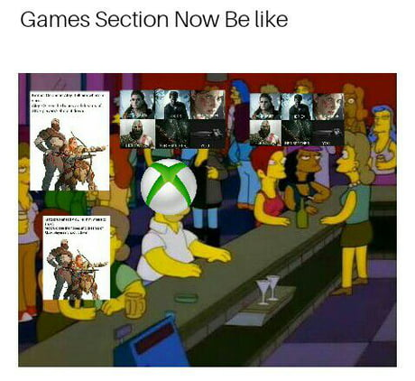 games section kills xbox