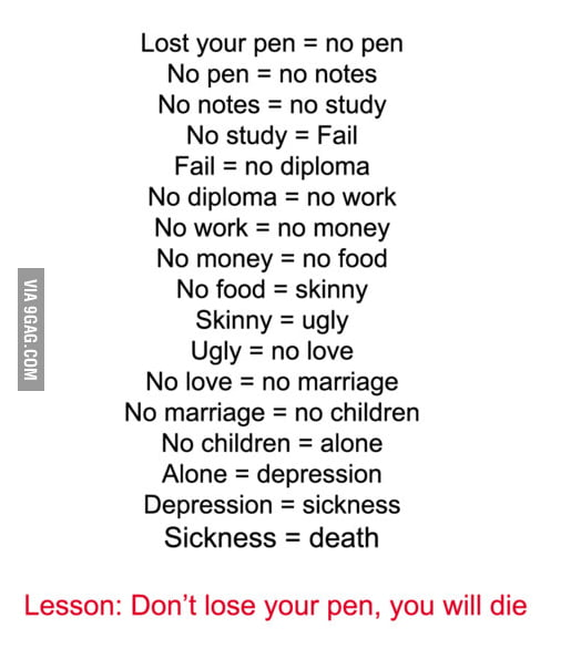 Dont Do Drugs Pencil Meme