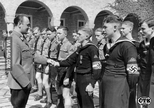 I Present You Hitlerjugend AKA Every Mans Haircut Nowaday 9GAG