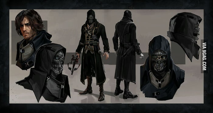 epic dishonored concept art