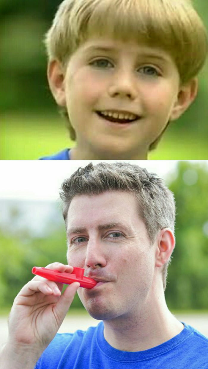 Remember the kazoo kid Thats him now Real name Brett Ambler  9GAG