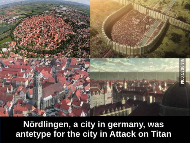 Attack-on-Titan city in real life! - 9GAG