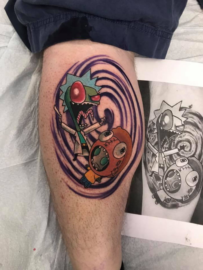 Invader Zim Tattoo