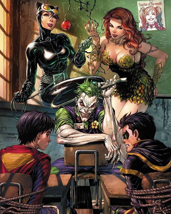 Remove The Joker And Its Look Like A Porn Introduction