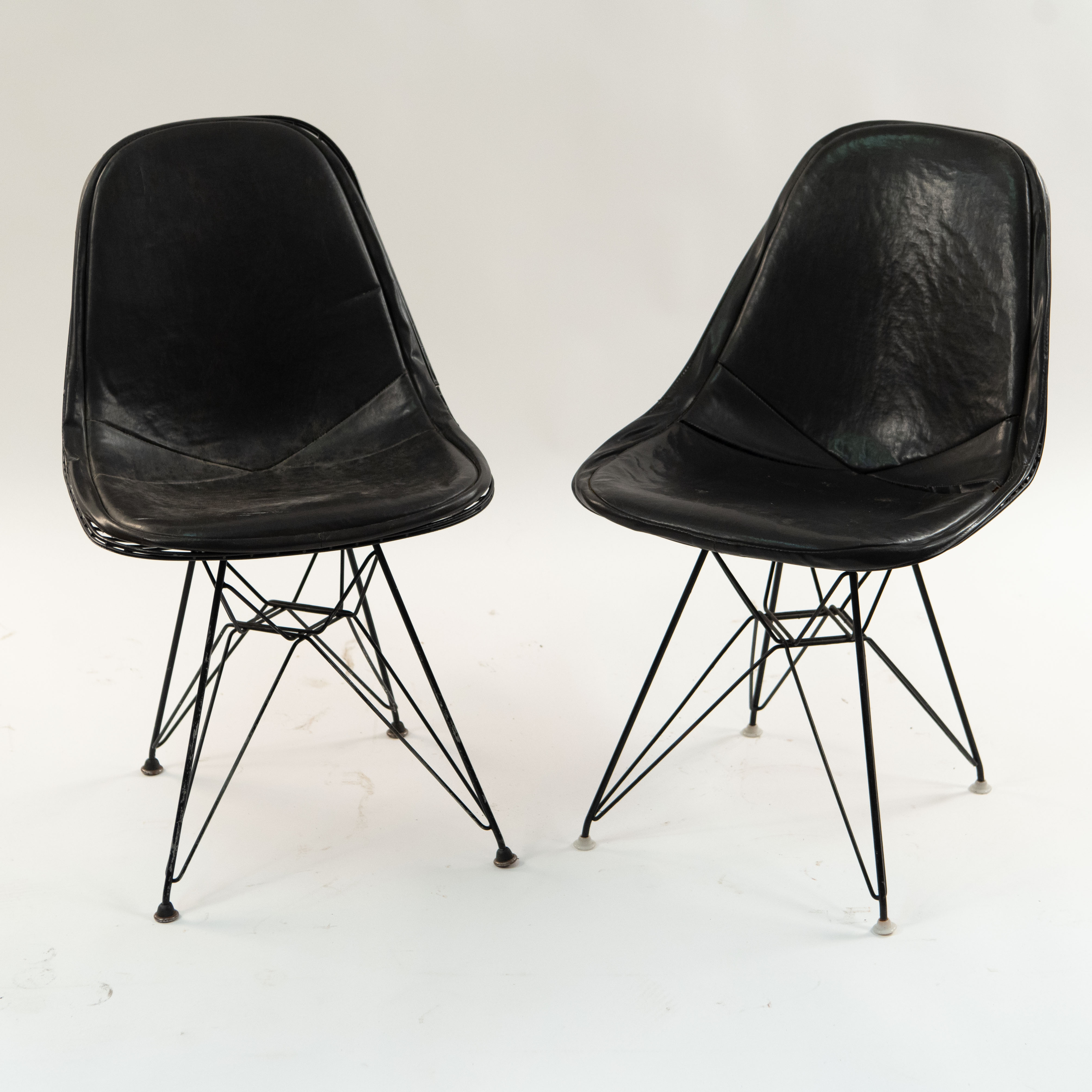 Eames Wire Chair 2 Herman Miller Eames Wire Chairs