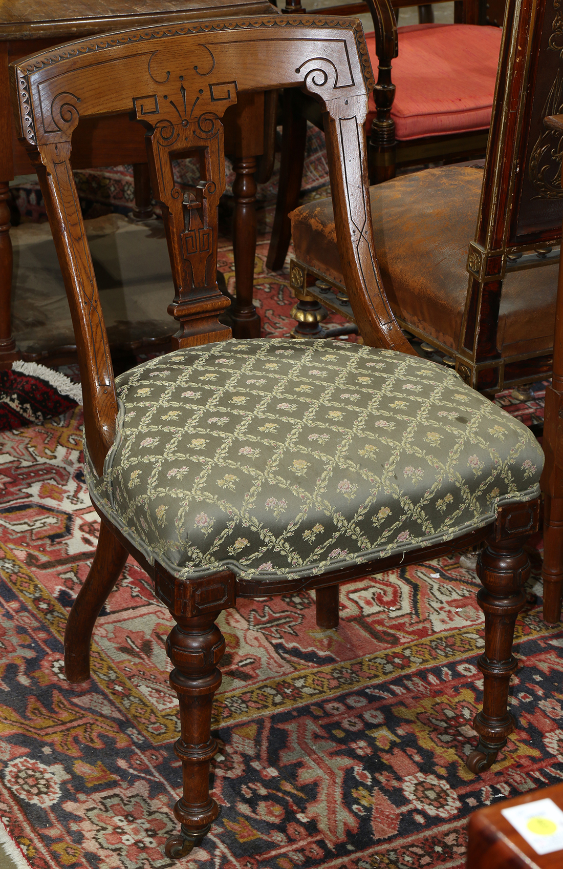eastlake victorian parlor chairs ergonomic mesh chair with headrest lofty marketplace