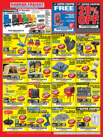 Harbor Freight Inside Track Coupons February 2019