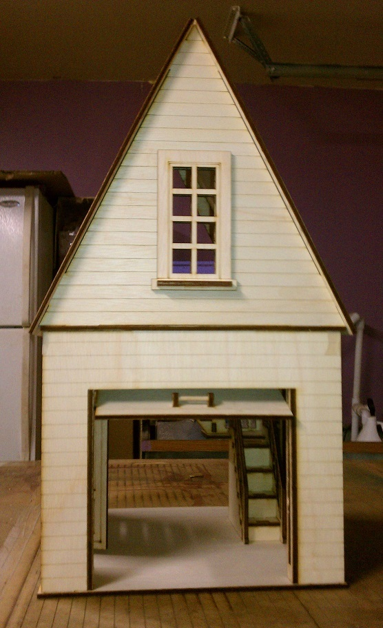 Dollhouse Garage 112 scale