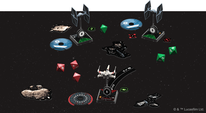 x-wing segunda edicion juegos de mesa