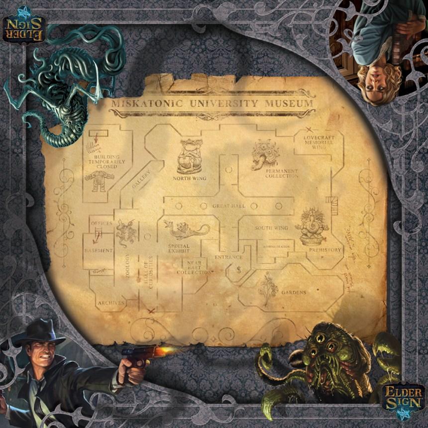 Image result for elder sign museum mat