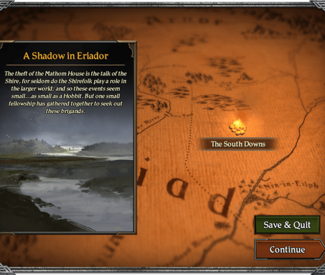 As Your Quest Begins In Jouneys In Middle Earth You Will Soon Be Swept Away On A Series Of Adventures That Spans Across Middle Earth