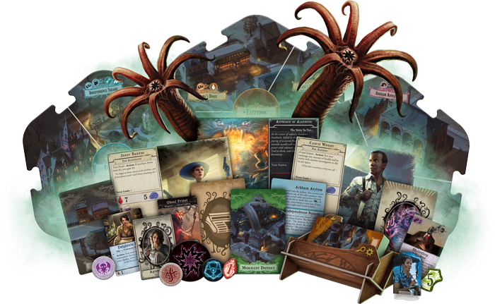 Image result for arkham horror third edition