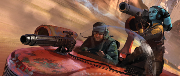 Image result for star wars legion landspeeder