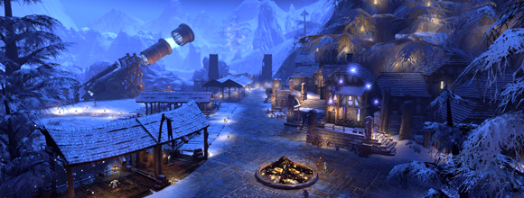 Dungeons and Dragons Neverwinter Winter Event