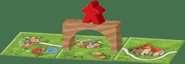 Bridges, Castles and Bazaars juego de mesa