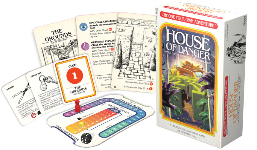 Image result for House of Danger board game