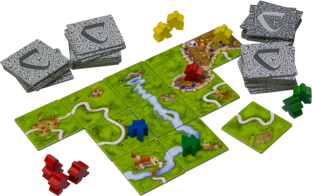 Carcassonne Being Played