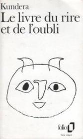 Le Livre Du Rire Et De L'oubli : livre, l'oubli, Livre, L'oubli, Milan, Kundera