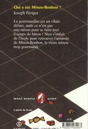 Qui A Tué Minou Bonbon : minou, bonbon, Minou, Bonbon, Joseph, Périgot, ACHETER, OCCASION, 24/09/1997