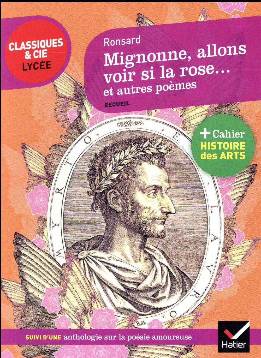 Mignonne Allons Voir Si La Rose Analyse : mignonne, allons, analyse, Mignonne, Allons, Autres, Poèmes, Pierre, Ronsard
