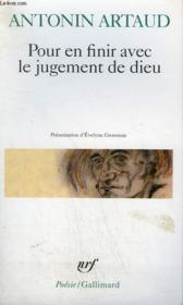 Pour En Finir Avec Le Jugement De Dieu : finir, jugement, Finir, Jugement, Antonin, Artaud