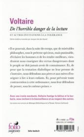 Voltaire De L Horrible Danger De La Lecture : voltaire, horrible, danger, lecture, Horrible, Danger, Lecture, Autres, Invitations, Tolérance, Voltaire