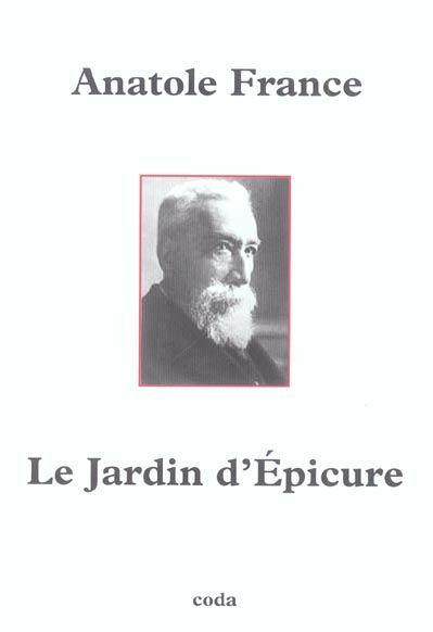 Le Jardin D'epicure  Anatole France  Livre  France Loisirs