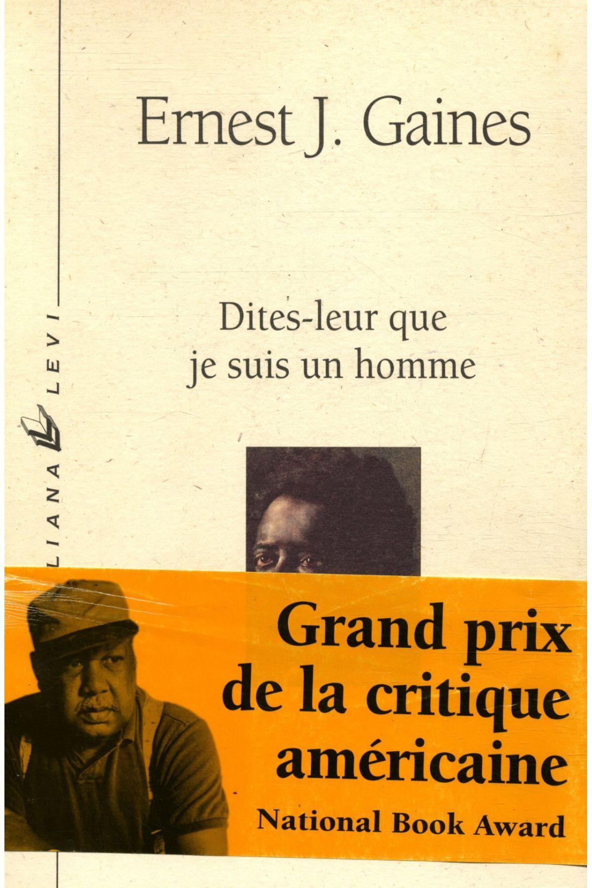Dites Leur Que Je Suis Un Homme : dites, homme, Dites-leur, Homme, Ernest, Gaines
