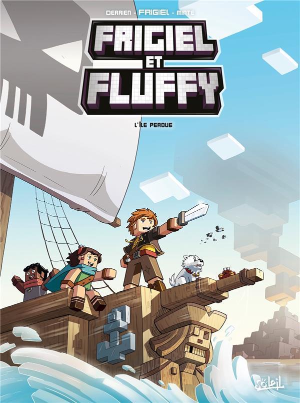 Frigiel Et Fluffy Saison 5 : frigiel, fluffy, saison, Frigiel, Fluffy, L'ile, Perdue, Livre, France, Loisirs