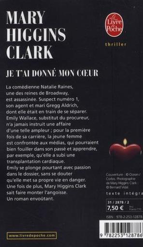 Je T'ai Donné Mon Coeur : donné, coeur, T'ai, Donné, Coeur, Livre, France, Loisirs