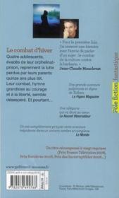 Le Combat D Hiver Résumé : combat, hiver, résumé, Combat, D'hiver, Jean-Claude, Mourlevat