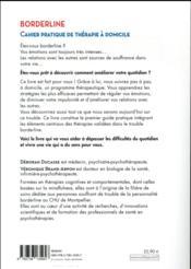 Borderline Cahier Pratique De Thérapie à Domicile : borderline, cahier, pratique, thérapie, domicile, Borderline, Cahier, Pratique, Thérapie, Domicile, Ducasse,, Deborah, Brand-Arpon,, Veronique