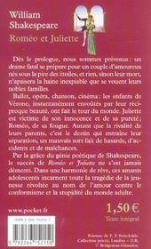 Roméo et Juliette - Poche - William Shakespeare, Georges