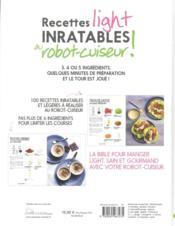 Recettes Inratables Au Robot-cuiseur ! : recettes, inratables, robot-cuiseur, Recettes, Light, Inratables, Robot, Cuiseur, Collectif